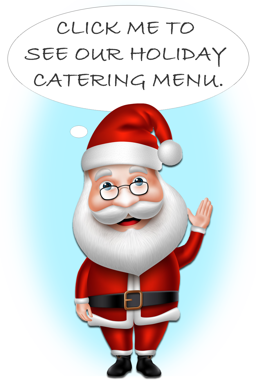 holiday catering menu